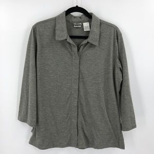 The North face Button Front Shirt